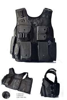 Hunting Military Tactical Swat Army Survival Game MOLLE Target Practice Vest #30daysYAKEDA