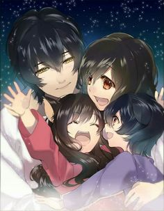 Together forever ( wolf children!!) This movie made me cry so much!