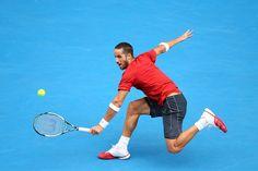 Feliciano Lopez - 2014 Australian Open - Day 6