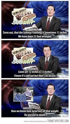 Subway lies…We've all been $5 foot wronged!