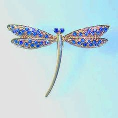 Light Blue Art Deco Modern Dragonfly Pin Brooch Swarovski Crystals Silver Cri... Dazzlers. $30.50. Exquisite, limited edition item which is sure to grow in value over time.. Each pin is hand set with Sparkling Swarovski Crystals & hand enameled.. Arrives In Padded Presentation Box With Certificate Of Authenticity. Bonded Seller, Stocked On Site, Quick Delivery & Gift Wrapping is optional.. 100% Satisfaction Guaranteed Or Your Money Back. Save 50%!