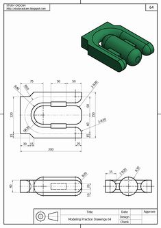 Engineering Drawing Book Pdf Best Of andrew Salu andrewsalu On Pinterest Drawing Book Pdf, Cad Drawing, Mechanical Engineering Design, Mechanical Design, Drawing Practice, Drawing Skills, Geometric Tolerancing, Isometric Drawing Exercises, Solidworks Tutorial