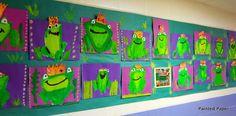 Art Show Part Two- Murals and More… – Painted Paper Art Kindergarten Art Lessons, Art Lessons Elementary, Classroom Art Projects, Art Classroom, Arte Elemental, Classe D'art, Fairy Tales Unit, First Grade Art, Fairy Tale Theme
