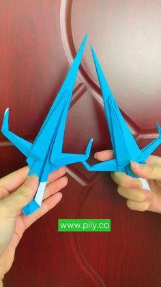Cool Paper Crafts, Paper Crafts Origami, Diy Paper, Paper Art, Instruções Origami, Origami Design, Oragami, Diy Crafts Hacks, Easy Diy Crafts