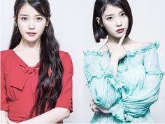 IU • Lee Ji Eun • 아이유 Long hair and Short hair