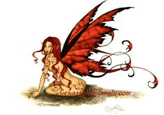 Temptress Fairy Postcard by Amy Brown Measures 4-1/2 x 6 inches. Postcards are printed on thick card stock.