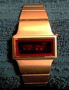 Birks LED Watch (1) Led Watch, Digital Watch, Watches, Vintage, Wristwatches, Clocks, Vintage Comics