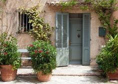 Traditional provencal home in Southern France