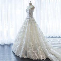 브라 웨딩 드레스 2017 여름 새로운 큰 긴 꼬리 신부 제나라 슬림 얇은 공주의 환상을 결혼