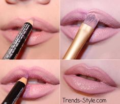How to achieve fuller looking lips.