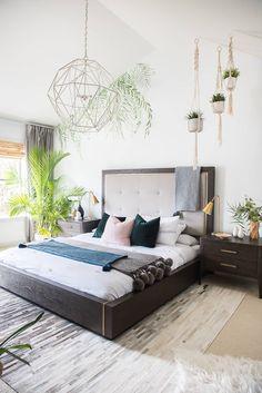 Modern JUNGLE bedroom refresh! Can you hear me ROAAAR!?!