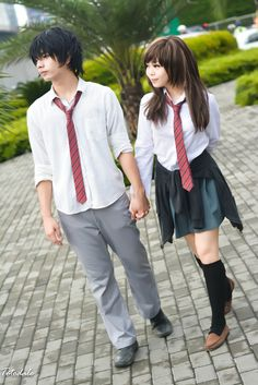 Futaba Yoshioka, Kou Mabuchi Cosplay Photo - WorldCosplay