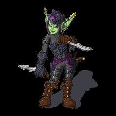 Goblin Rogue by Wosukoart on deviantART