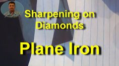 Sharpening Plane Irons on Diamond Stones It's easy to produce super sharp, plane irons, using diamond whetstones and a leather strop. Woodworking Projects Diy, Woodworking Tools, Sharpening Stone, Great Videos, Diamond Stone, Wood Grain, Cleaning Hacks, Plane, Cleaning Tips