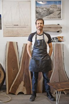 My man was featured on Design Sponde today. Check it out!  Studio Tour: Sean Woolsey