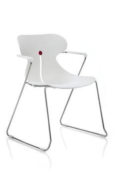 Desiro DOT chair white polypropylene