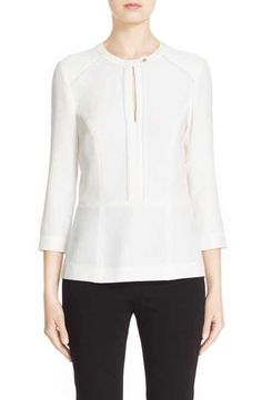 Belstaff 'Lilly' Crepe Sable Blouse