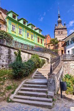 Sighisoara citadel, a must see place, Transylvania, Romania www.romaniasfriends.com