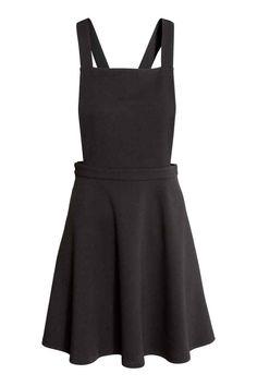 Jersey dungaree dress   H&M