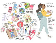 meet the artist! Drawing Bag, Posca Art, Bag Illustration, Fanarts Anime, Meet The Artist, Wow Art, Art Challenge, Character Design Inspiration, Aesthetic Art