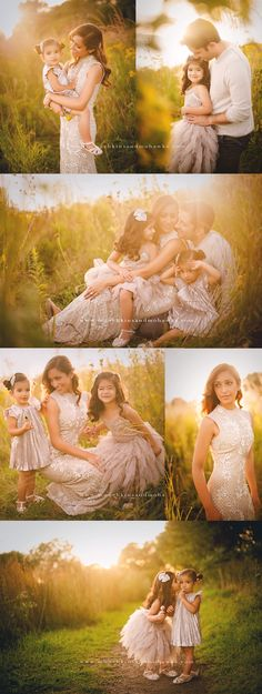 not necessarily this exact photo, just the concept of super dressed up family photos in nature // munchkins and mohawks photography