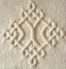 Celtic Diamond (#20) by Devorgilla's Knitting - Celtic Collection - Галерея - Knitting Forum.Ru
