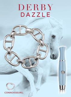 Win all 3 of our Dazzle products plus this Sterling Silver Equestrian Link Bracelet by Dorfman Sterling http://connoisseurs.com/contest-entry-may17ROS.htm