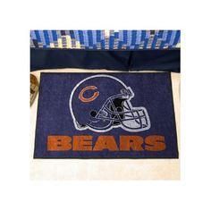 "FANMATS NFL - Chicago Bears Doormat Rug Size: 2'10"" x 3'8.5"""