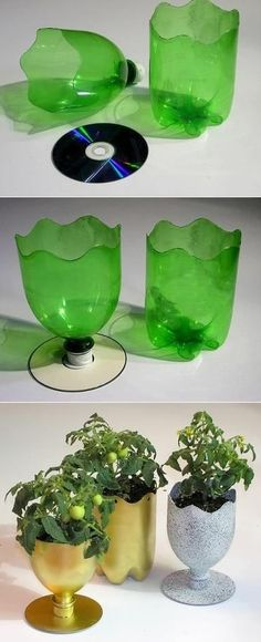 recycling plastic bottles: creative and clever with plastic bottles - crafts ideas - crafts for kids.