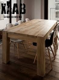 Risultati immagini per tavolo legno esterno grezzo