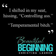 Quote from Beautiful Beginning by Christina Lauren.