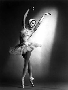 "Julie Kent as Odette in American Ballet Theater's ""Swan Lake"""