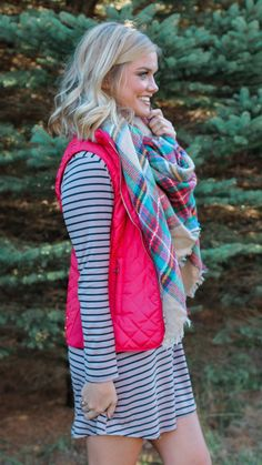 Red Licorice Vest from UOI Boutique