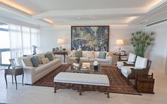 Living Room -- Joy Garrido Interiors