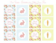 { Easter free printables } Des jolies étiquettes (et plus ) à imprimer pour Pâques - Prunille fait son show...