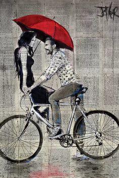 Cycle Drawing, Cycle Painting, Canvas Art, Canvas Prints, Art Prints, Velo Design, Cycling Art, Road Cycling, Cycling Tips