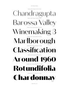 Domaine Sans Typeface Family | Australian Design Biennale