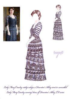Vanda's Secret Wardrobe - Downton Abbey costume by maya40.deviantart.com on @deviantART