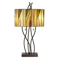 Pacific Coast Lighting Oak Vine Table Lamp