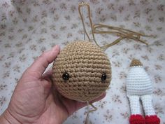 Head Jointing tute - crochet only, no pins, eyes etc