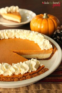Another Pumpkin Cheesecake Pie