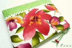 Květy v zelené zahrádce - taštička do kabelky