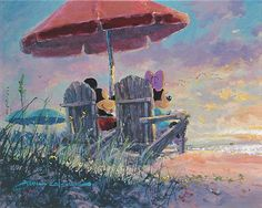 James Coleman - Mickey Mouse - Our Sunset - world-wide-art.com