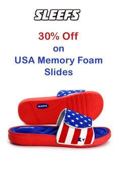 SLEEFS is offering 30% discount on USA memory Foam Slides. Order now and enjoy the discount. For more Sleefs Coupon Codes visit: www.couponcutcode.com/stores/sleefs/ Nfl Jerseys, Coupon Codes, Memory Foam, Coupons, Coding, Usa, Coupon, Programming, U.s. States