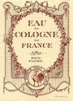 Vintage Cologne labels
