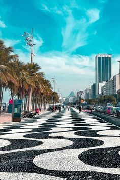 Rio de Janeiro Praia de CobacabanaYou can find Rio de janeiro and more on our website. Dream Vacations, Vacation Spots, Brazil Vacation, Brasil Travel, Places Around The World, Around The Worlds, Brazil Tourism, Places To Travel, Places To Visit