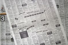 Very innovative Corona Kitchen Newspaper Ad by Felipe Salazar. At the first look a typical classifieds page of a newspaper. 3d Optical Illusions, Journal Du Design, Newspaper Design, Newspaper Art, Guerilla Marketing, Design Graphique, Creative Advertising, Advertising Design, Journaling