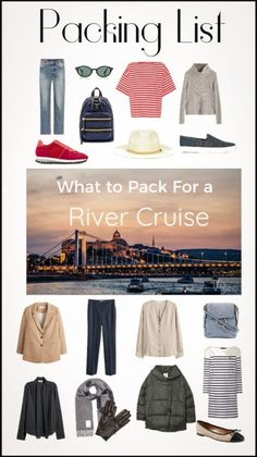 Viking River Cruise packing List with Cruise Packing Tips- Preparing for your first river cruise? Let us take the guess work out of what to pack. Packing List For Cruise, Cruise Europe, Cruise Travel, Packing Tips For Travel, Travel Hacks, Cruise Vacation, Packing Ideas, Europe Packing, Travel Ideas