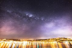 Astrophotographer Mark Gee sent in an intriguing view of the Milky Way over Evans Bay in Wellington, New Zealand, taken early June 2014.