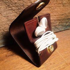Headphone case Leather